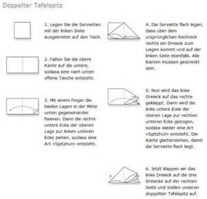 servietten design servietten falten design doppelter tafelspitz servietten falten tischkultur packing24 de