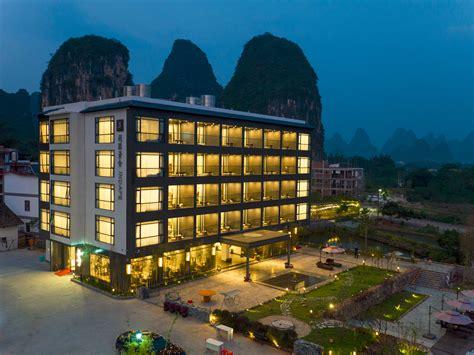 hotel chambres familiales yangshuo indape hotel comté de yangshuo chine voir