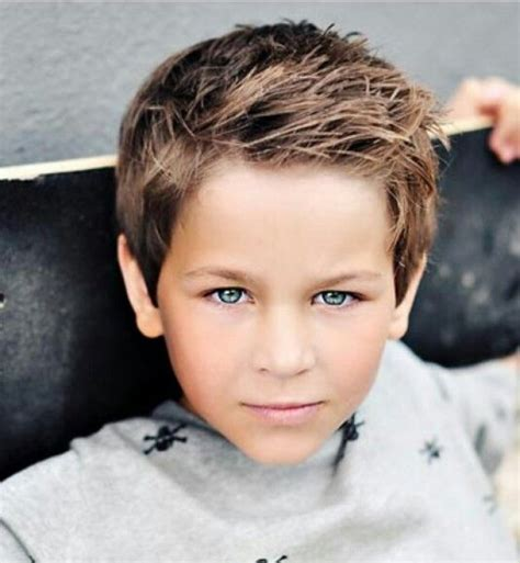 65 coiffures sympas pour un petit gars | Coiffures du0026#39;enfants | Pinterest | Petits garu00e7ons Gars ...