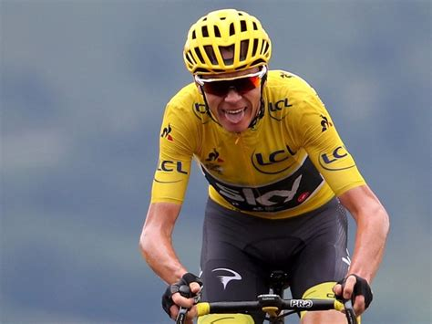 Tour de France winner Chris Froome has a perfect body for