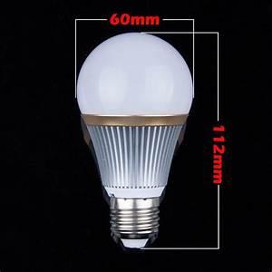 Ampoule Led 220v : 1 ampoule led maison e27 15w 220v dimmable couleur blanc ~ Edinachiropracticcenter.com Idées de Décoration