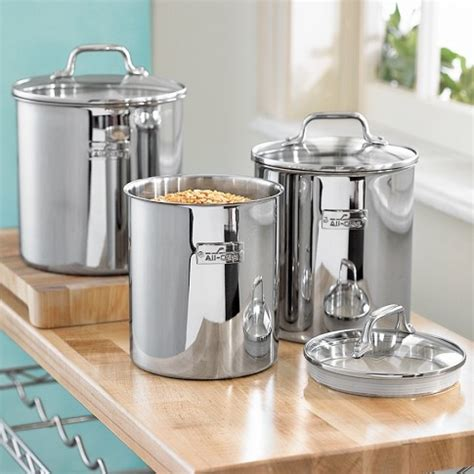 stainless steel kitchen canister set 78 best images about stainless steel canister sets on