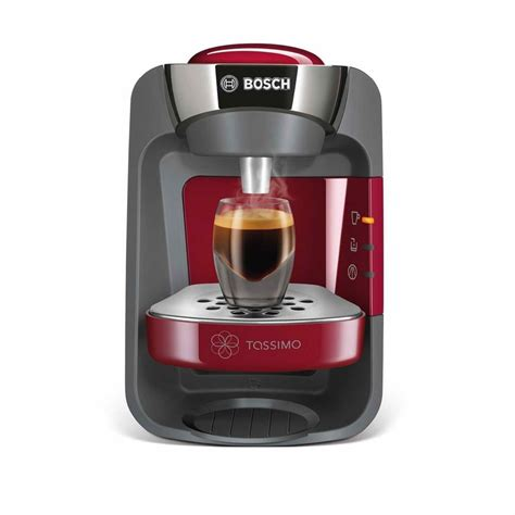 Whatever your coffee of choice is, investing in a tassimo machine will keep. Bosch Tassimo T32 Suny Coffee Pod Machine Red TAS3203GB | Around The Clock Offers