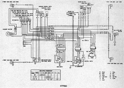 honda st70 wiring