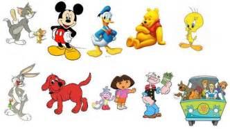 Famous Cartoon Characters Kids