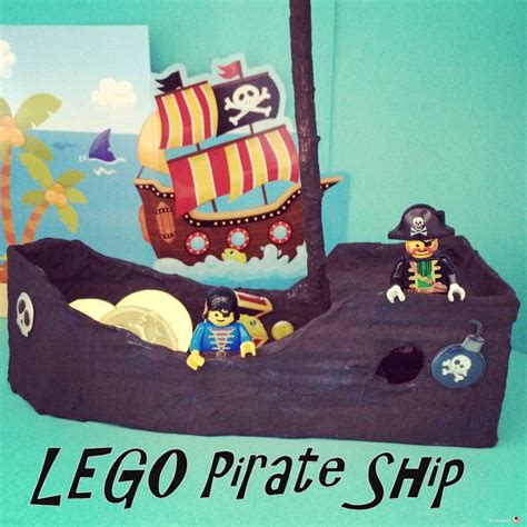 Lego Boat Pirate by How To Make A Lego Pirate Ship Pinkoddy S