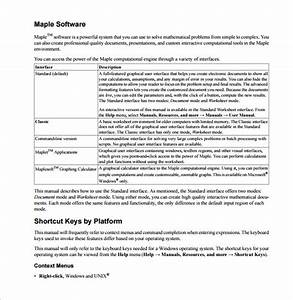 Free 12  Sample User Manual Templates In Pdf