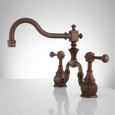 vintage kitchen faucets vintage bridge kitchen faucet lever handles kitchen