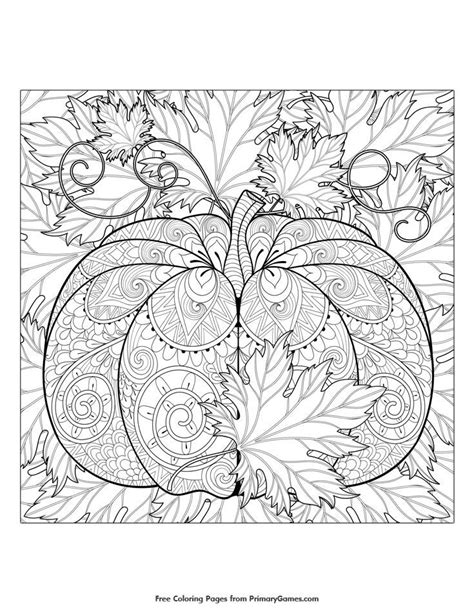 fall color pages best 25 fall coloring pages ideas on fall