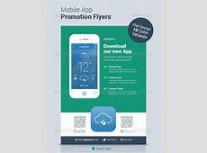 30 Effective Web & Mobile Apps Flyer PSD Templates Web