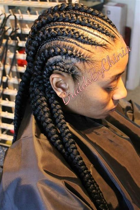 feed  braids hairstyle  rock  year