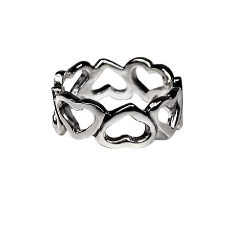 buy silver celtic heart ring english heritage
