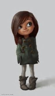 Little Girl Cartoon Character Kids