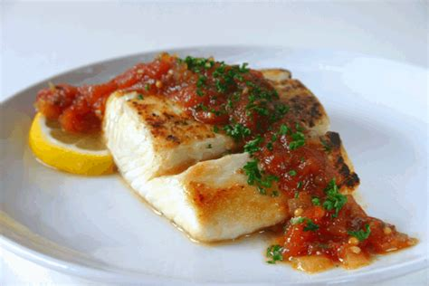 halibut recipe pan roasted halibut fillets and cheeks recipe dishmaps