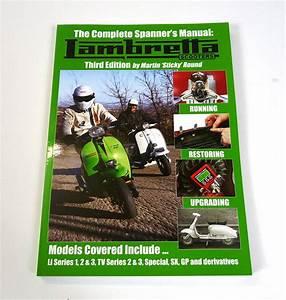 Lambretta Book  Lambretta Spanners Manual By Sticky  3rd