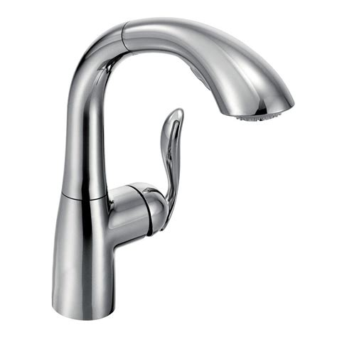 Moen Pull Out Kitchen Faucet by Moen Arbor Single Handle Pull Out Sprayer Kitchen Faucet