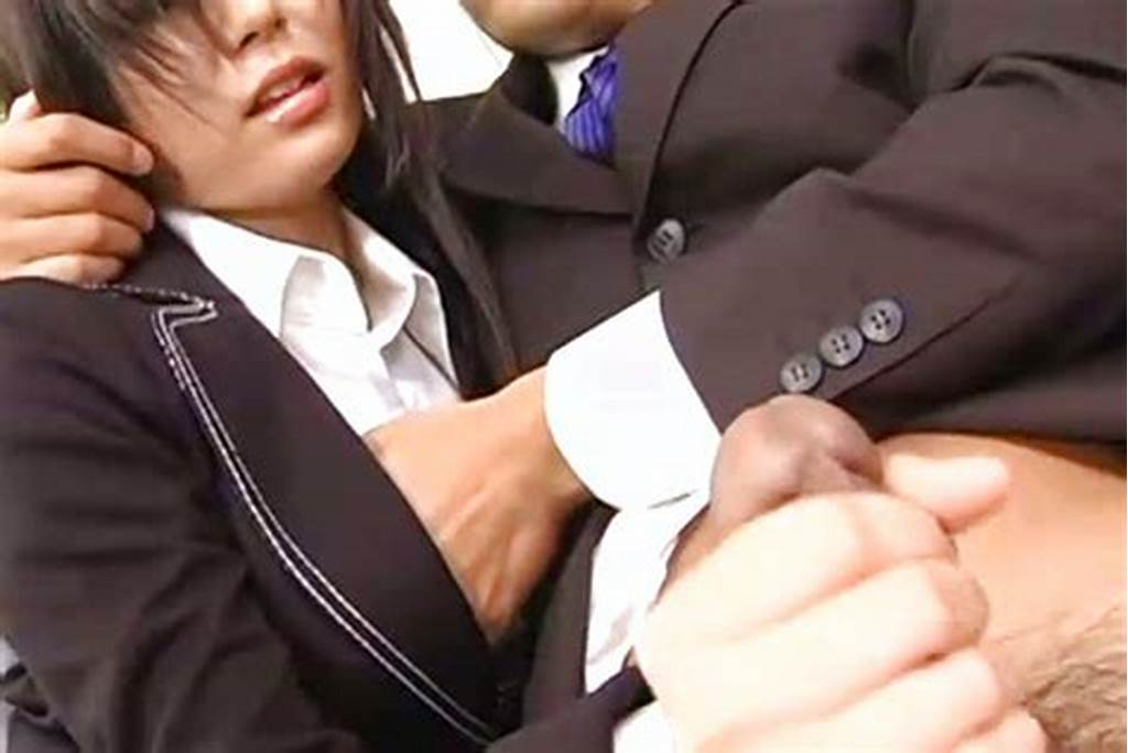#Satomi #Maeno #Has #To #Suck #Cock #During #A #Business #Meeting #At