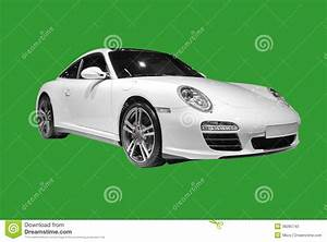 White Porsche Isolated Editorial Stock Photo Image 38285743