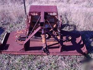 5 U0026 39  Woods Finish Mower Rm59