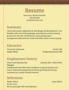 free basic resume examples recentresumescom With free basic resume samples