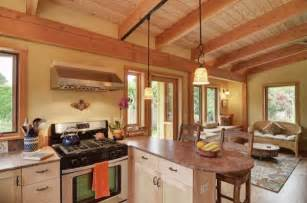 small home interior tiny homes 800 square timber frame home by nir pearlson