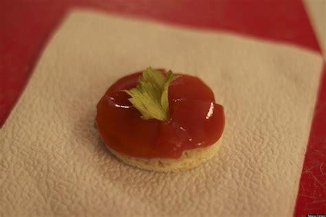 canapé foie gras vintage cookbook recipes foie gras and tomato jelly
