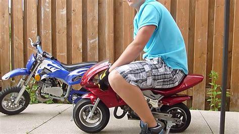 50cc 2 Stroke Pocket Bike And Mini Dirt Bike For Sa...