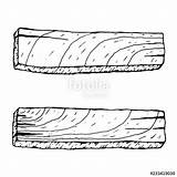 Plank Clipart sketch template