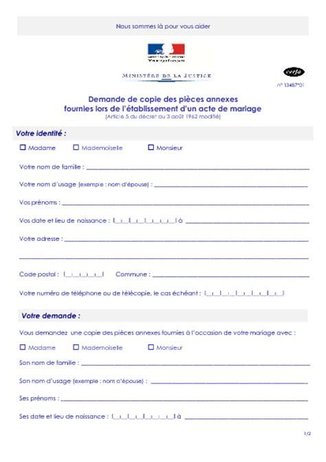 exemple acte de mariage modele procuration acte de naissance document