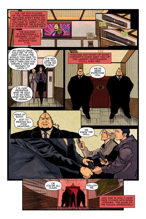 yakuza  comicbook  comic book miniseries  gang