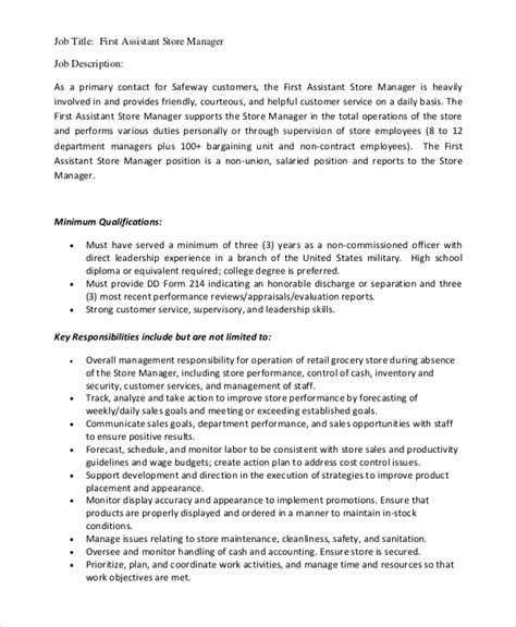 Grocery Store Manager Duties Resume by Service Manager Description Service Delivery Manager Resume It Technology