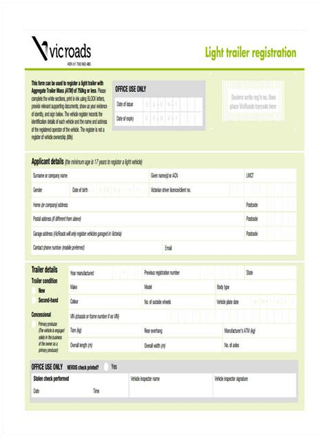 Boat Registration Qld Transfer Form by 37 Free Transfer Forms