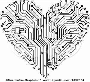 black and white circuit board clipart clipground With pcb circuit board