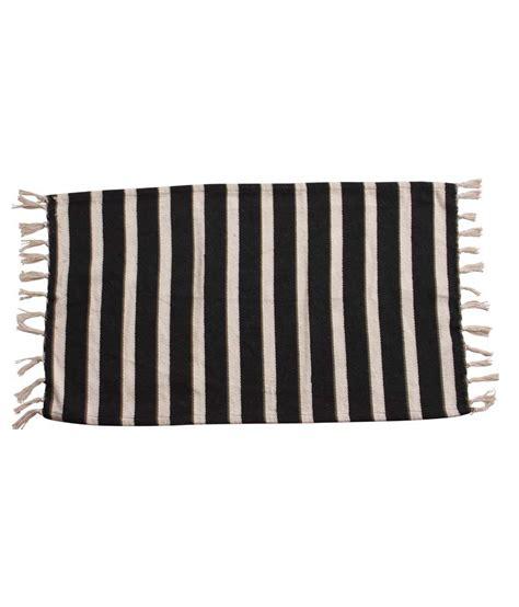 black and white striped doormat azaani black and white stripes floor mat buy azaani