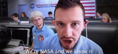 'we're Nasa And We Know It' Parodies Curiosity Mission