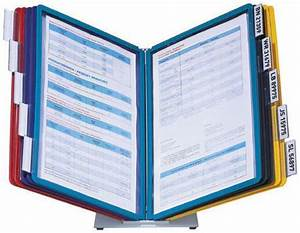 5699 00 durable black blue green red yellow pp With durable document holder