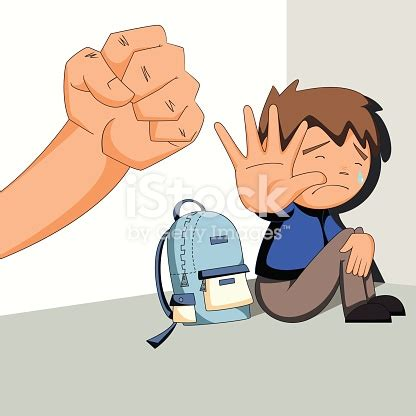 Child Abuse Bullying Harassment Stock Vector Art & More
