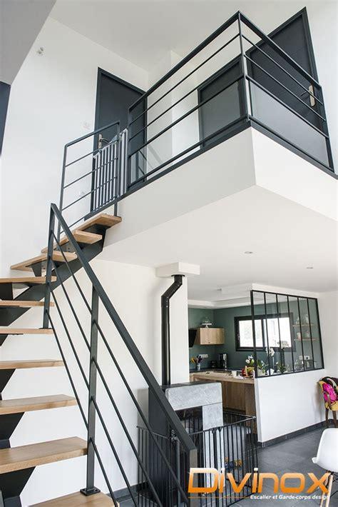 garde corps escalier design  verriere sur mesure en