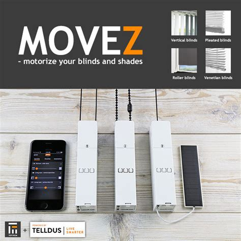z wave blinds movez motorizes your blinds z wave connected crib