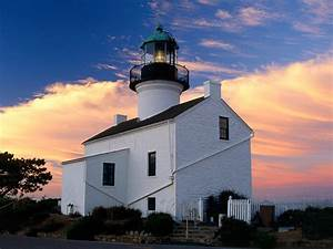 Old Point Loma Lighthouse Cabrillo National Monument ...
