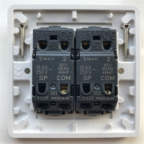 Replacing Old Double Light Switch With New, Odd Wiring