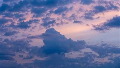 Sky Clouds Dusk Sunset Laptop Background Evening