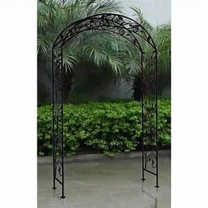 Arche De Jardin En Fer Forgé : bentley garden arche d corative de jardin fer forg ~ Premium-room.com Idées de Décoration