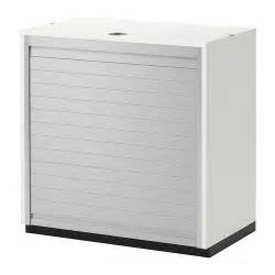 galant roll front cabinet white ikea