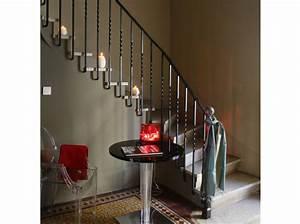 quel est votre style d39escalier elle decoration With superior couleur pour une cage d escalier 3 noir blanc un style