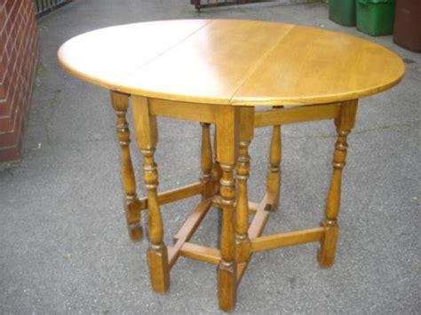 antique light oak drop leaf dining table kitchen table