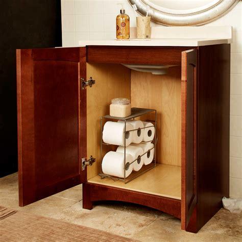kitchen cabinet shelf paper 12 ways to organize spare toilet paper core77 5754