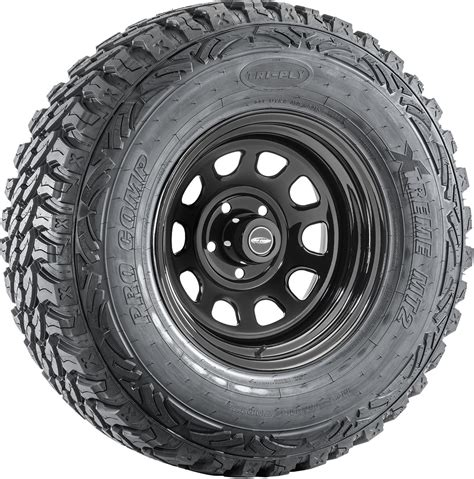 pro comp wheels and tires xtreme m t2 radial tire on 51 series steel wheel for jeep 174 vehicles