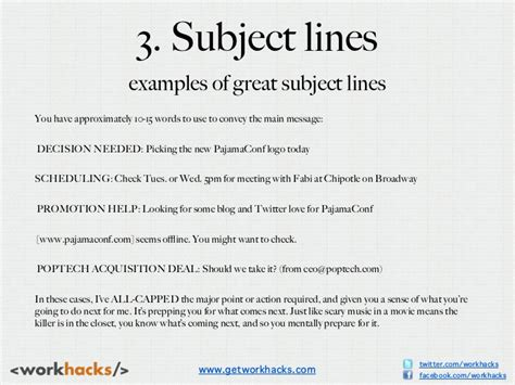 Subject Line For Resume Email Exles by 3 Subject Lines Exles Of