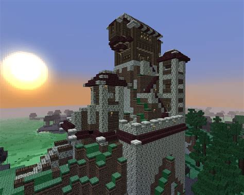 mountain fort minecraft project